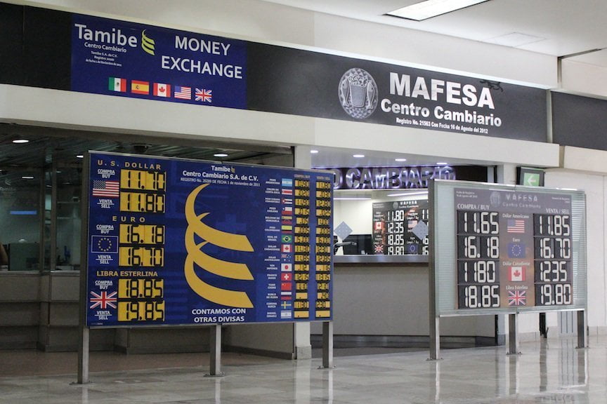 casa de cambio in airport