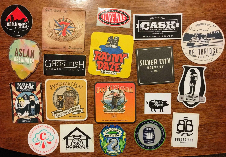 Strange Brewfest Coasters