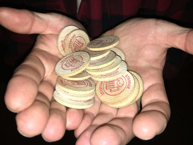 Strange Brewfest tokens