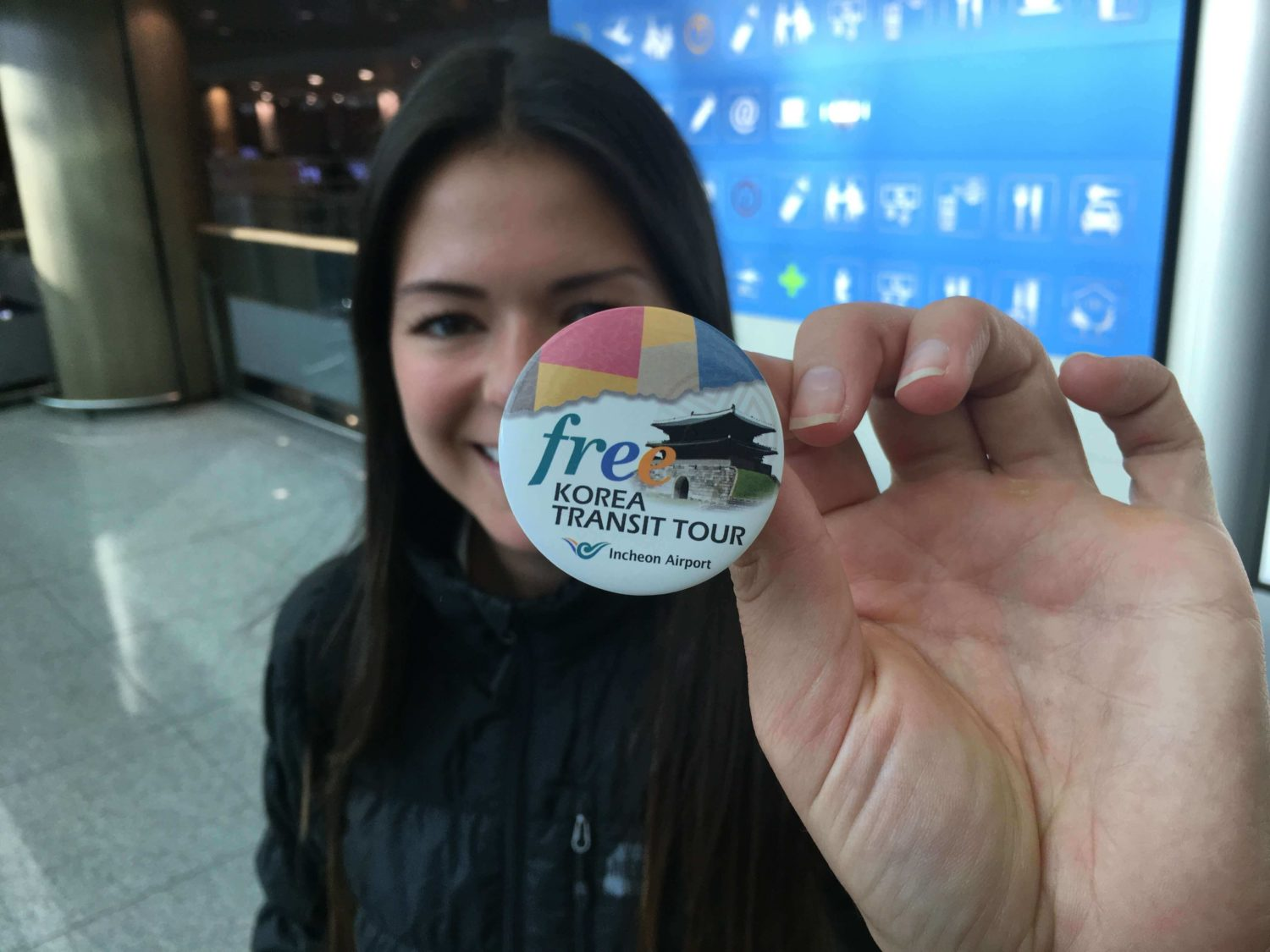 Seoul Layover Tour Button