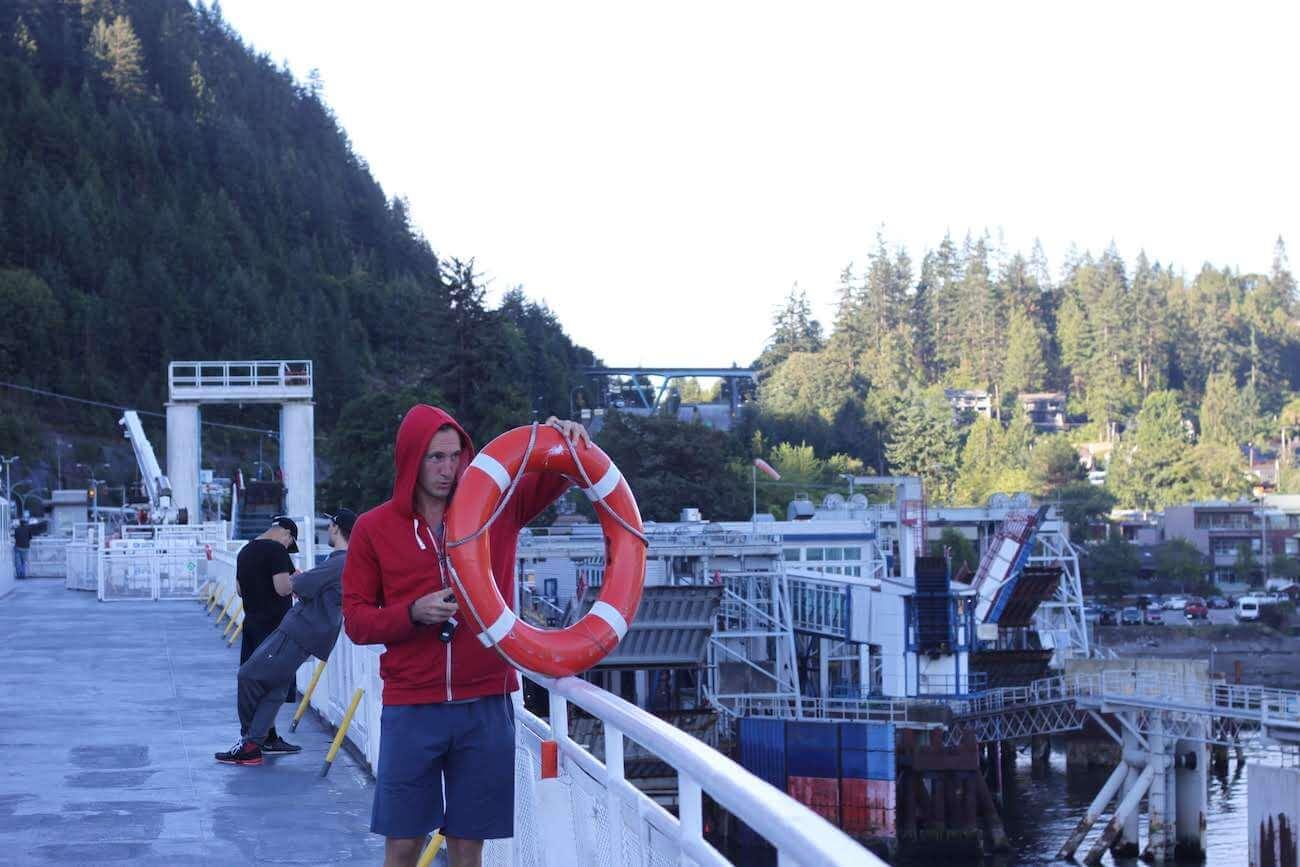 Chris in hoodie