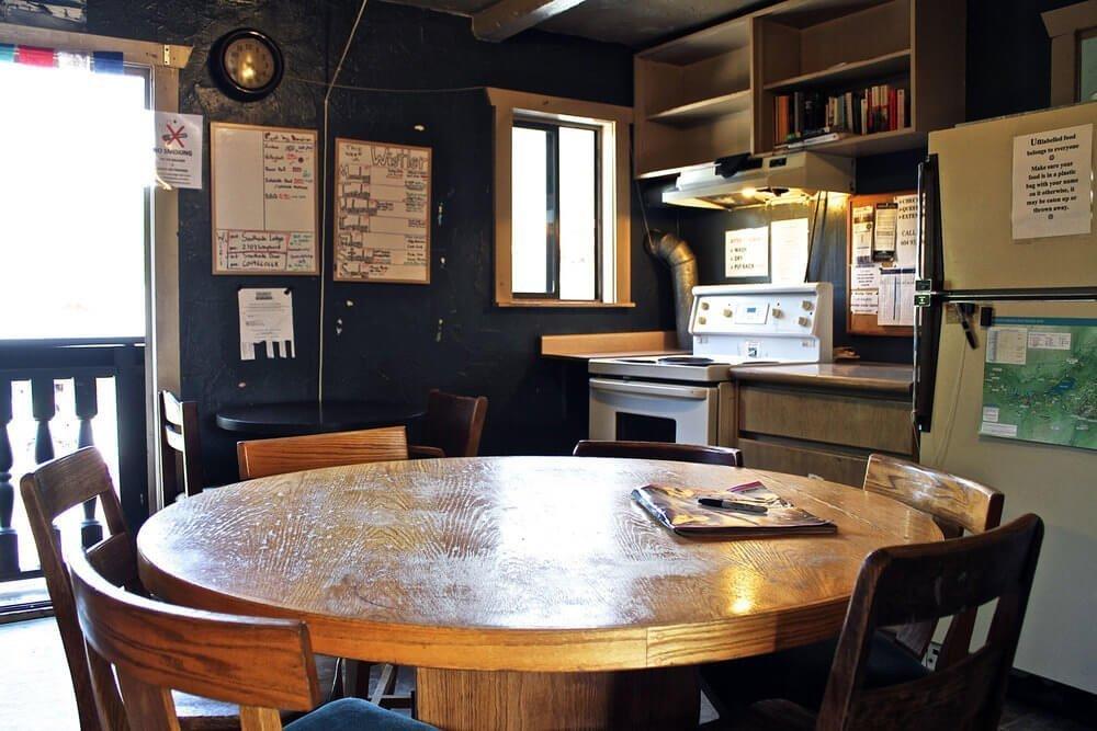 Whistler hostels Southside lodge kitchen