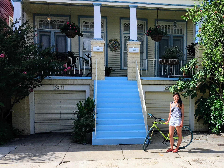 Biking Solo in New Orleans