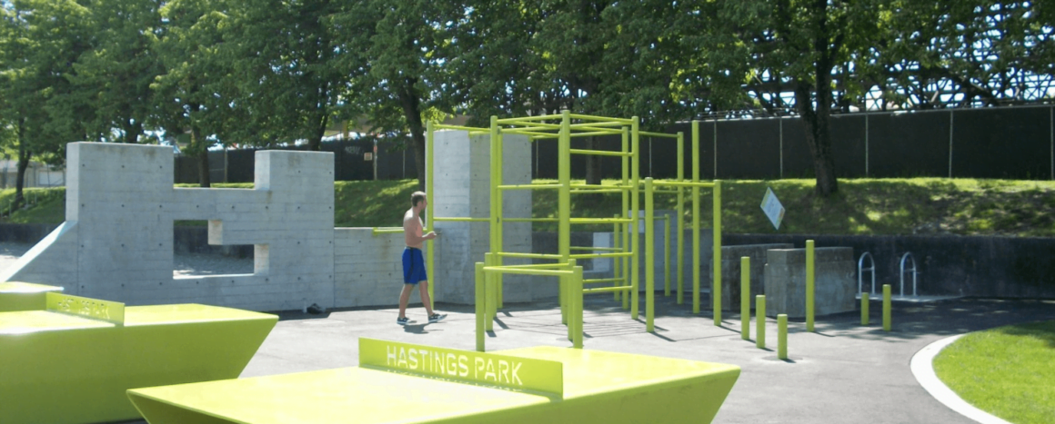 vancouver calisthenics park - empire fields