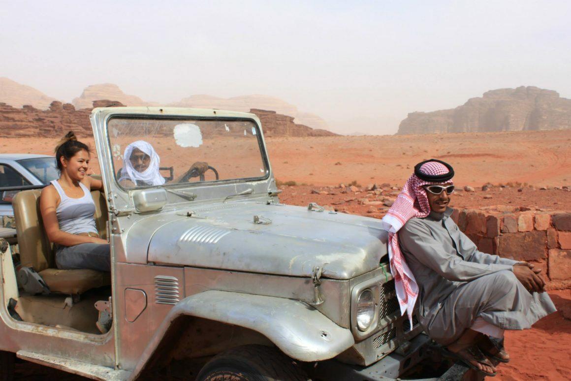 Travel tips and tricks cover of Kim in Jordan