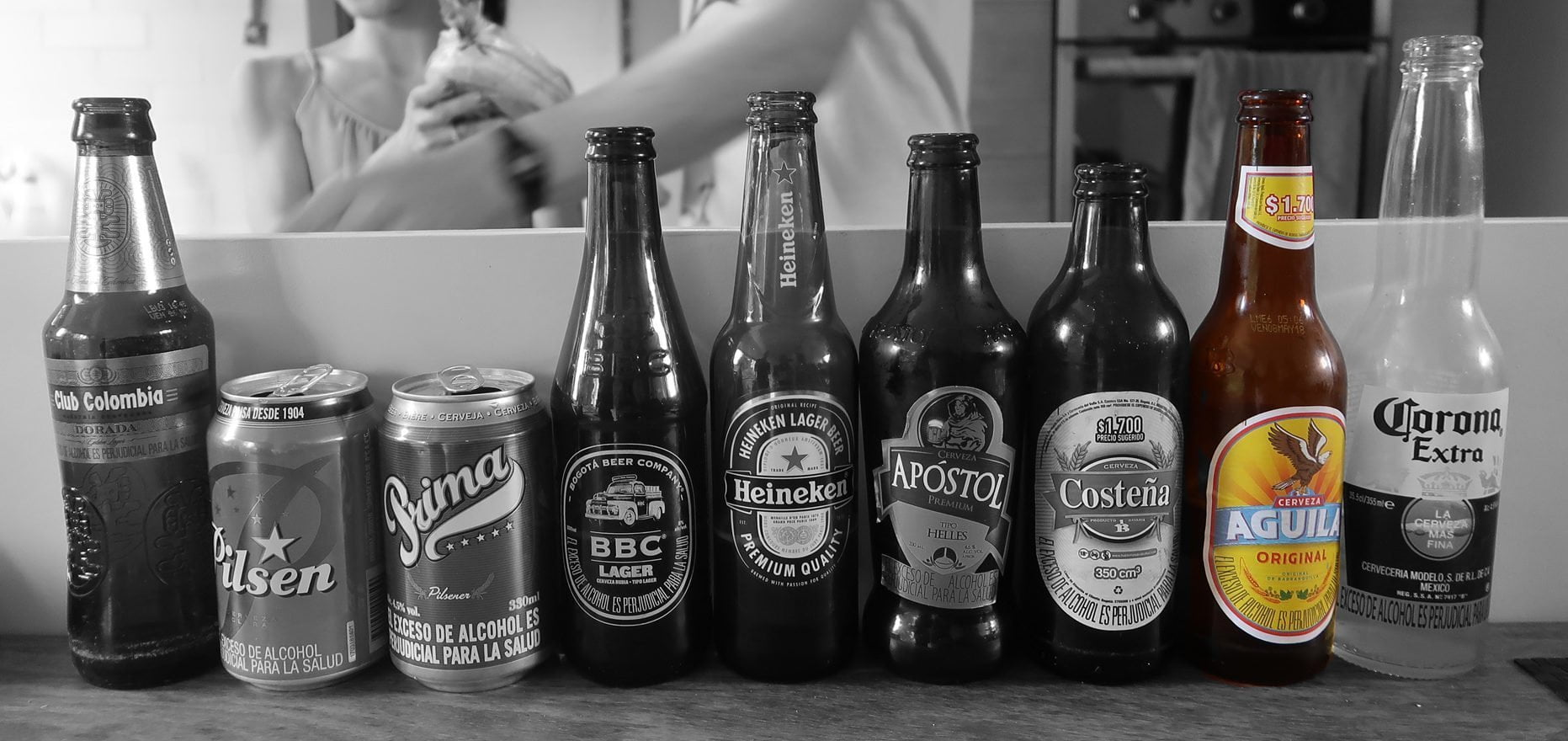 Aguila Beer Blind Taste Test