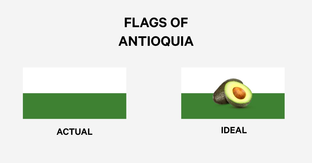 Avocado Antioquia Flag Moving to Medellin