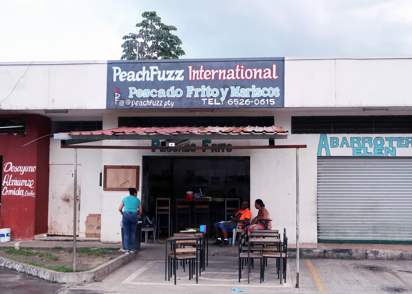 Peach Fuzz International Panamanian Food