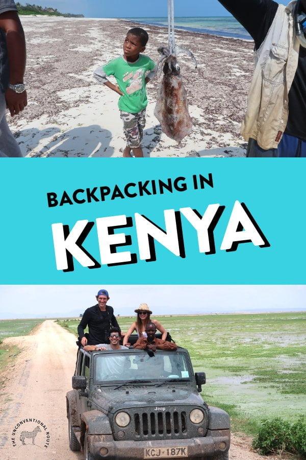 backpacking in kenya