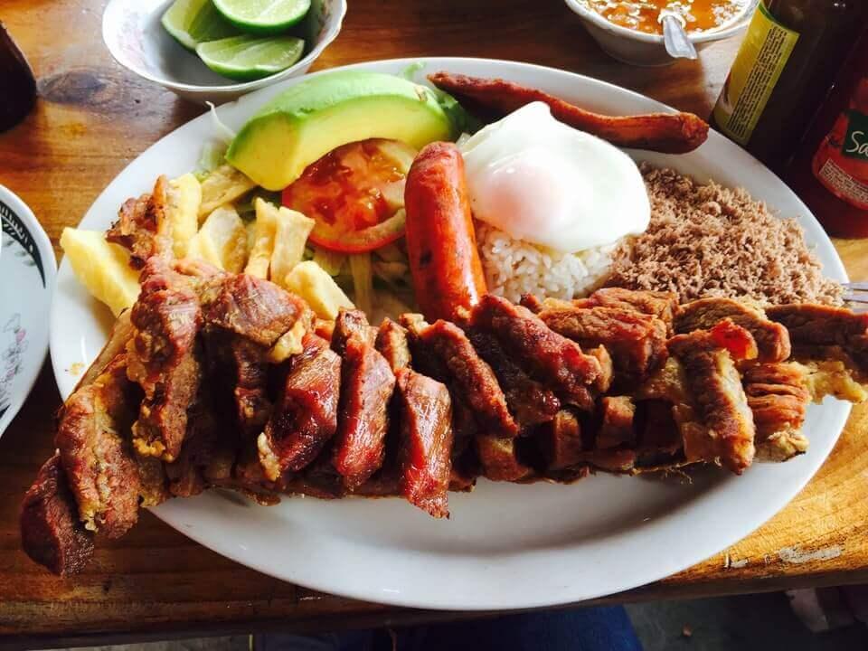 chicharron from Gloria de Gloria, one of top restaurants in Medellin