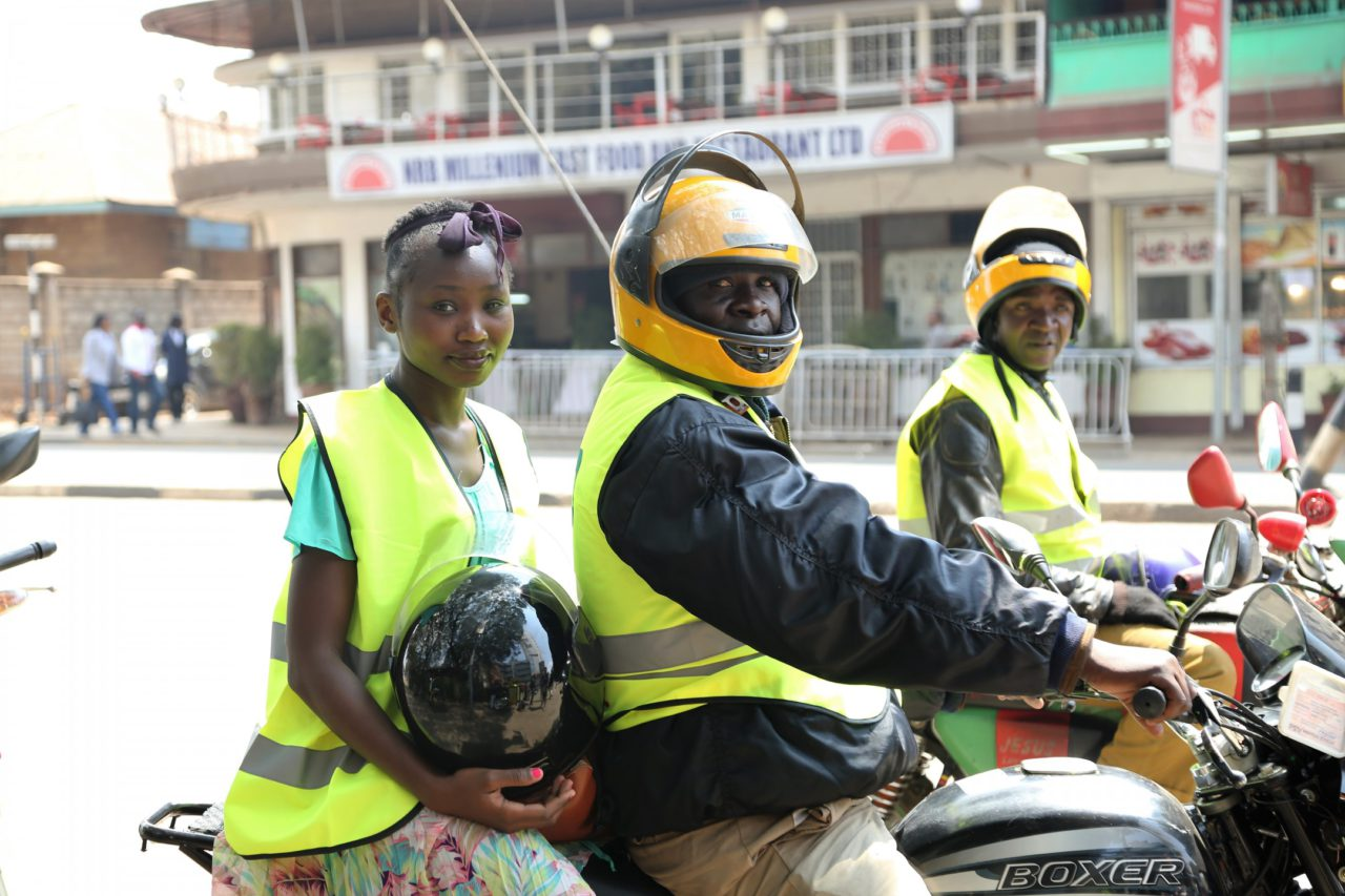 Nairobi Motorcycle Taxis