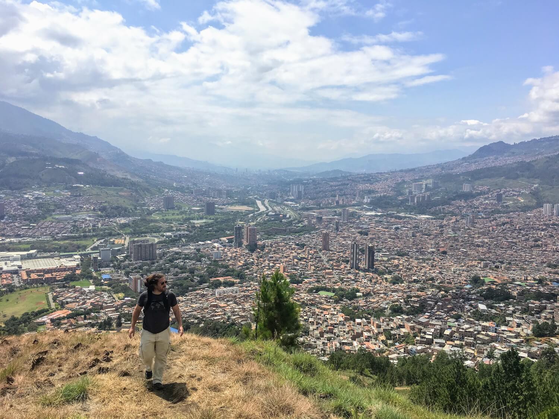 Paul half-way up Cerro Quitasol