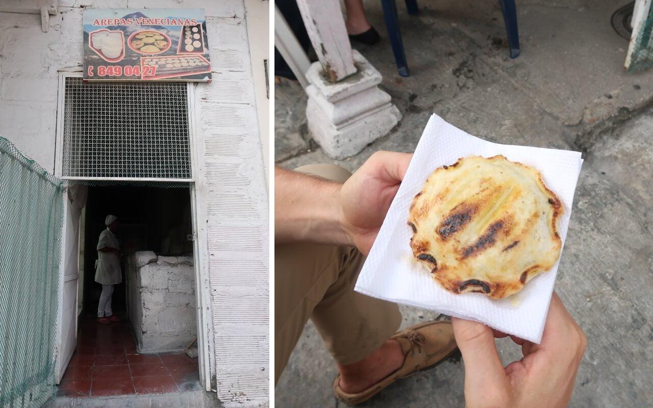 Arepas Venecianas Con Chorizo Venecia Antioquia