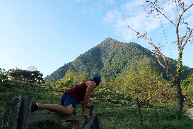 The start of cerro tusa venecia colombia