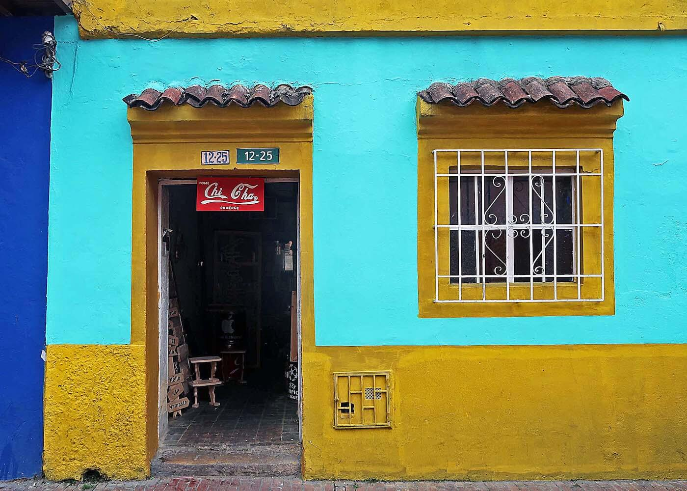 facade of a shop in La Candelaria