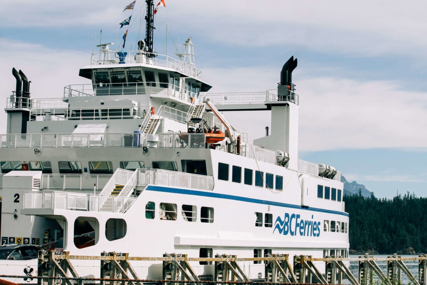bc ferries exterior shot