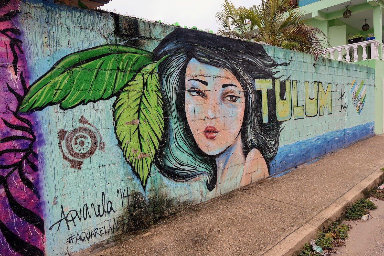 Tulum travel guide cover art
