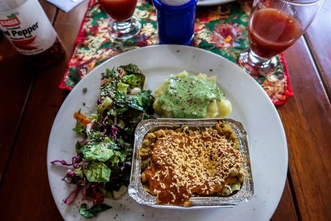 menu del dia from prana in envigado