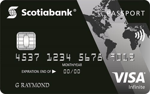 Scotiabank Visa Infinite credit card