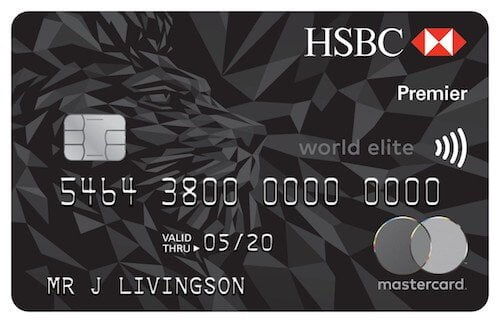 HSBC World Elite Mastercard.