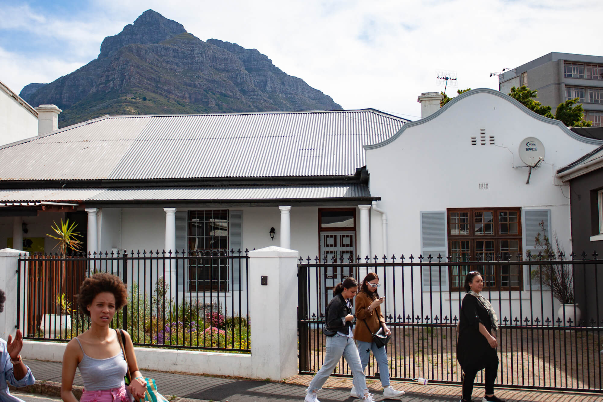 Where to stay in Cape Town - locals walking around Observatory