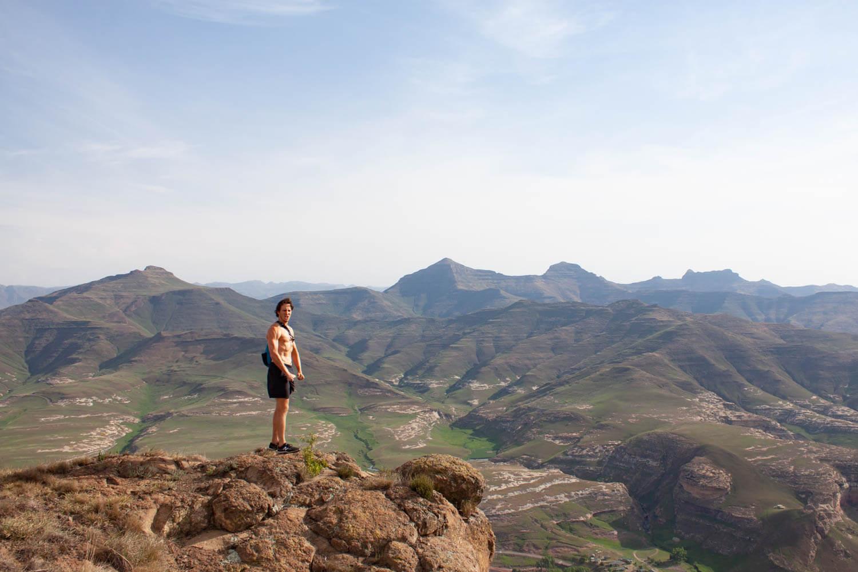 Chris atop Wodehouse Peak