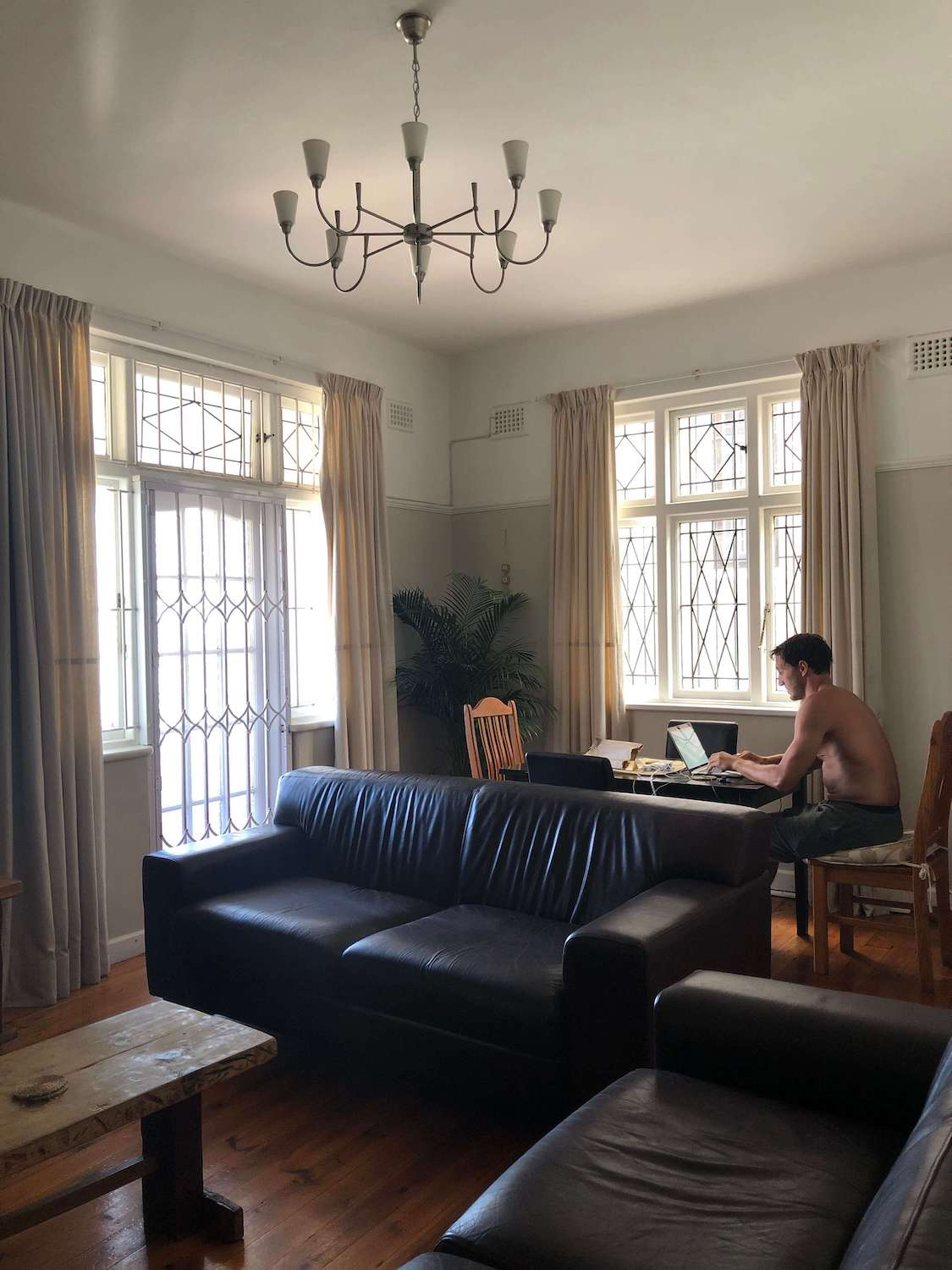 Chris in Airbnb looking for apartments in Cape Town