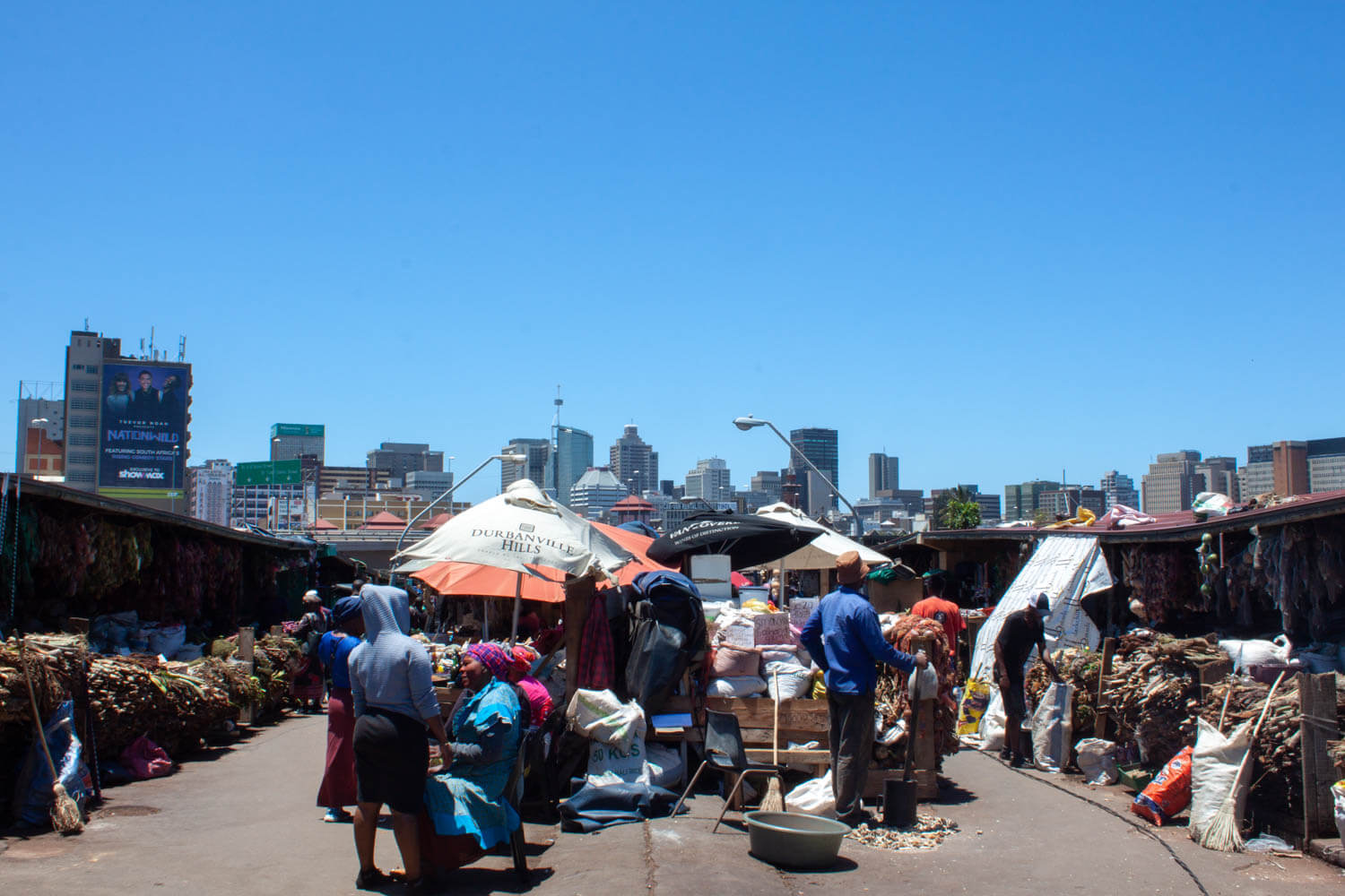 Downtown Durban and Warwick Market