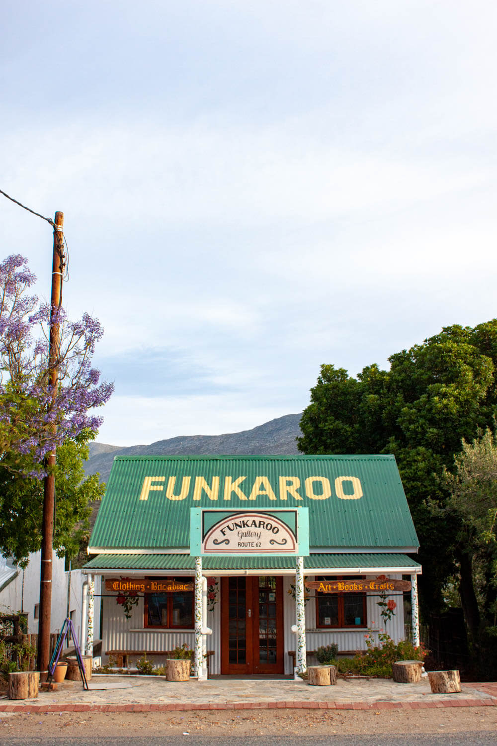Funkaroo shop in Barrydale