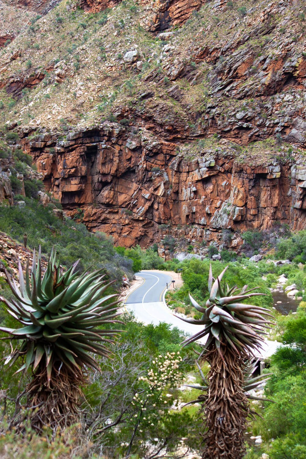 Beautiful Meiringspoort Pass