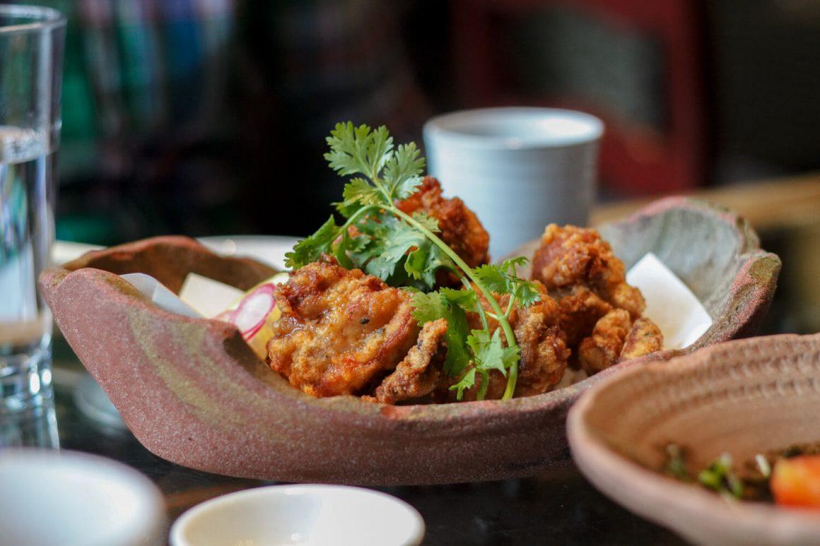 Chicken karaage from Kingyo