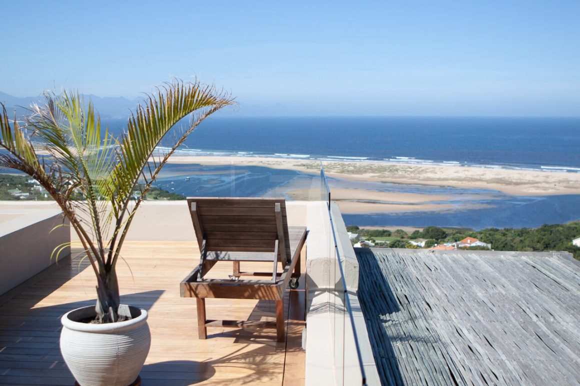 Views over Plettenberg Bay from La Vista Lodge.