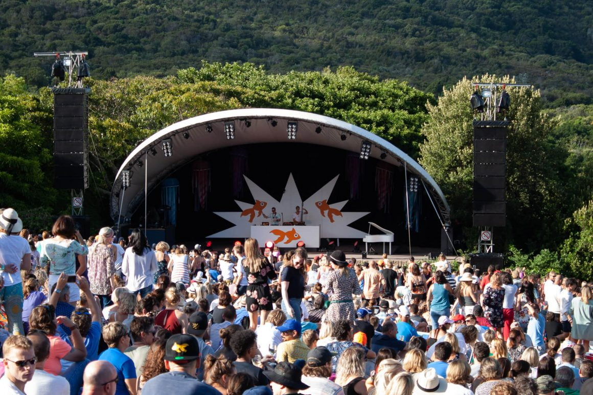 Things to do in Cape Town - go to the outdoor Kirstenbosch concert series in the summer