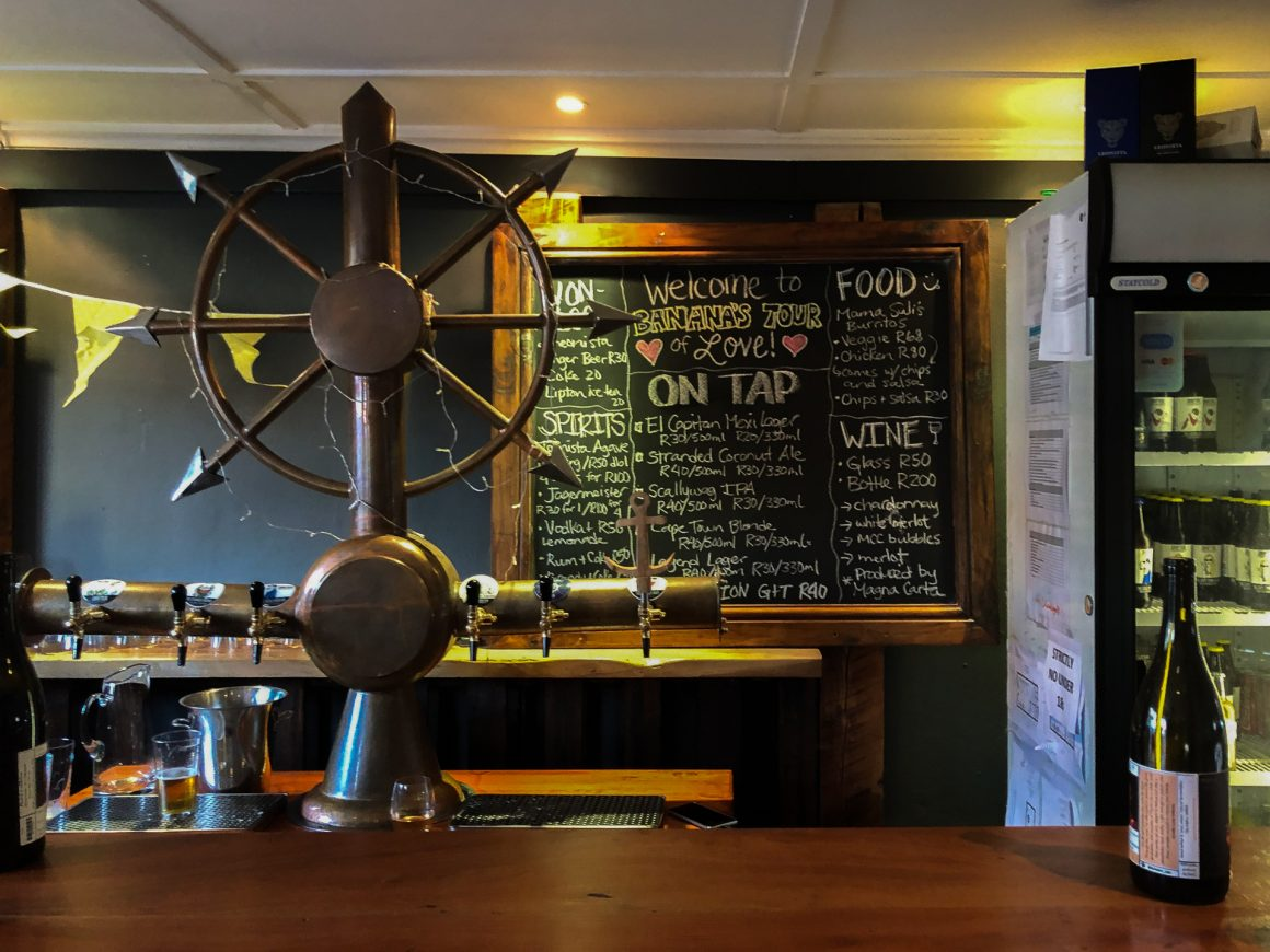 Things to do in Cape Town - visit a local brewery like Drifters in Woodstock
