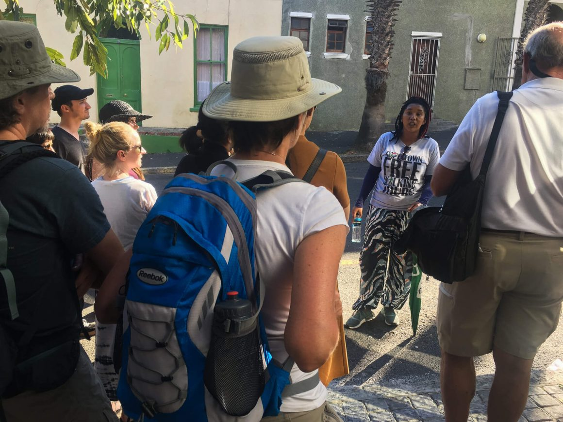 Free walking tour in Cape Town is a great thing to do in Cape Town