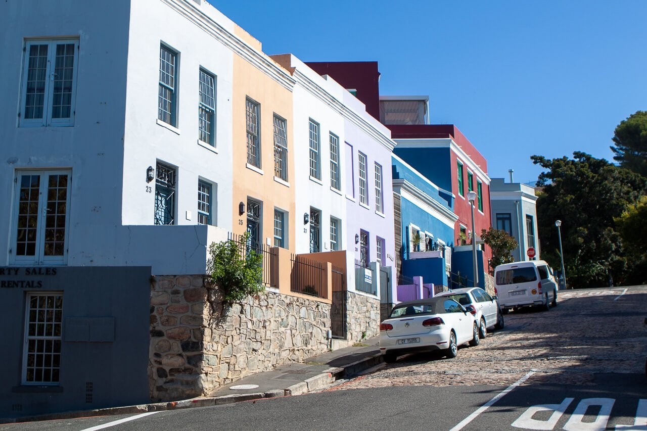 Where to stay in Cape Town - De waterkant buildings