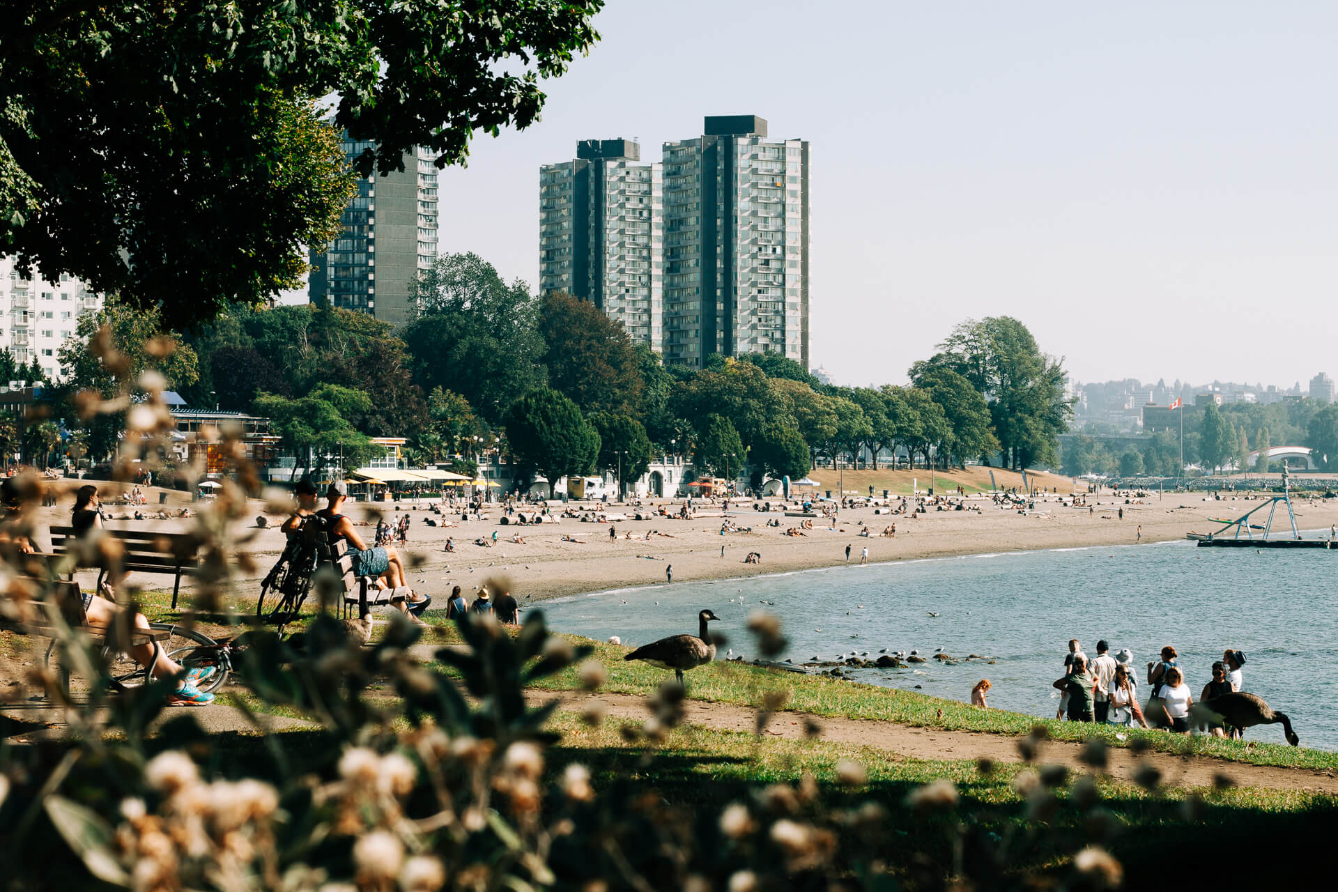 where to stay in vancouver cover photo - view of english bay and the west end