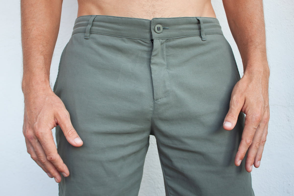 Outlier New Way shorts are the best shorts for fancy occasions