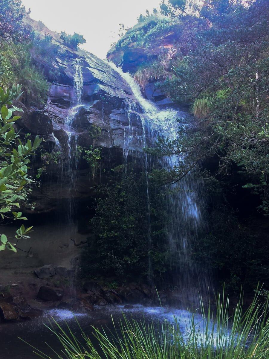 Doreen Falls in the Drakensberg Mountains