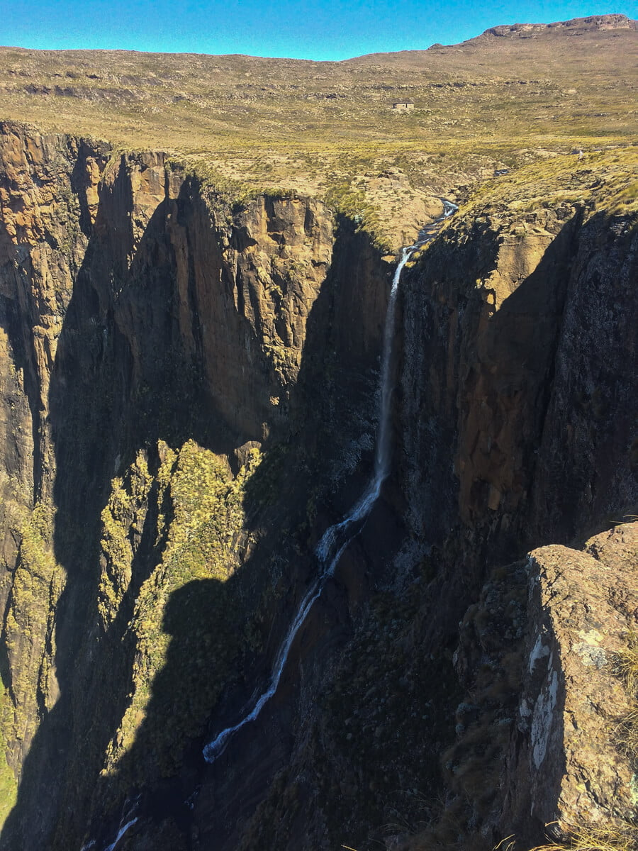 Top of Tugela Falls Drakensberg