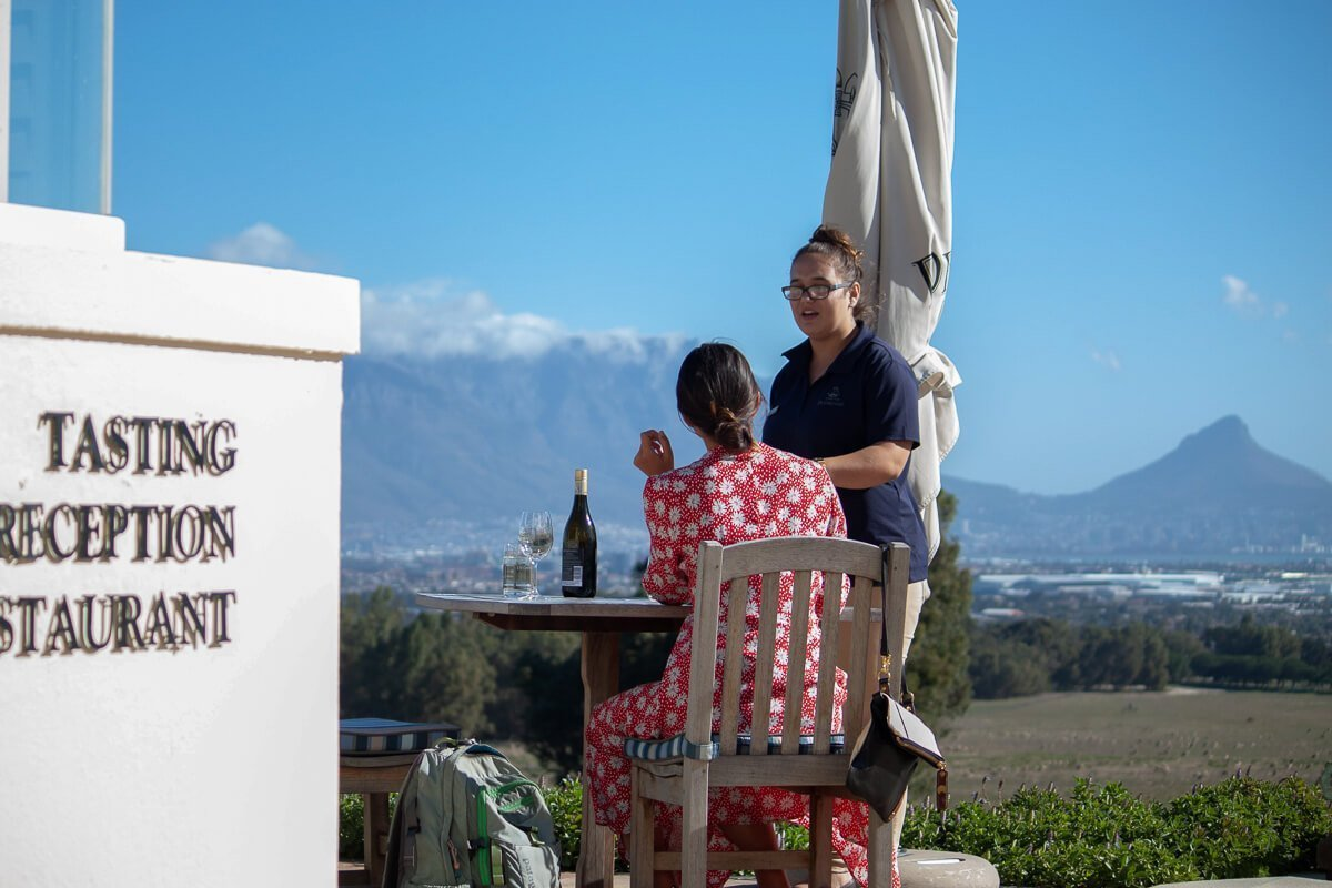 Best Wine tastings in South Africa cover image of Kim at De Grendel