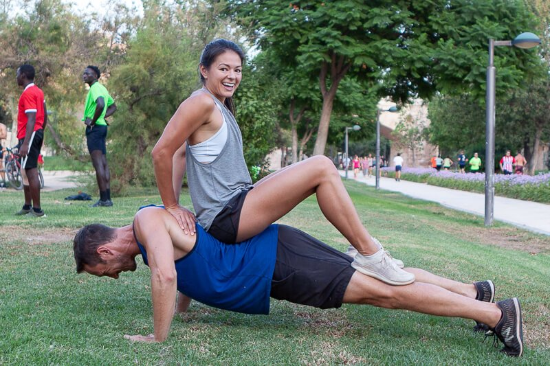 Intense partner workout exercises cover image