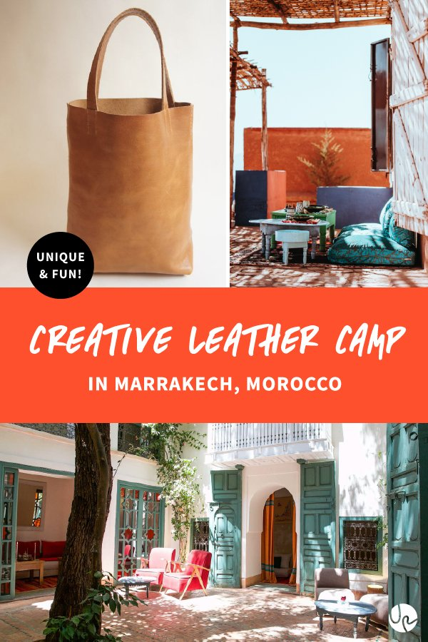 Creative Leather Camp Marrakech pin.