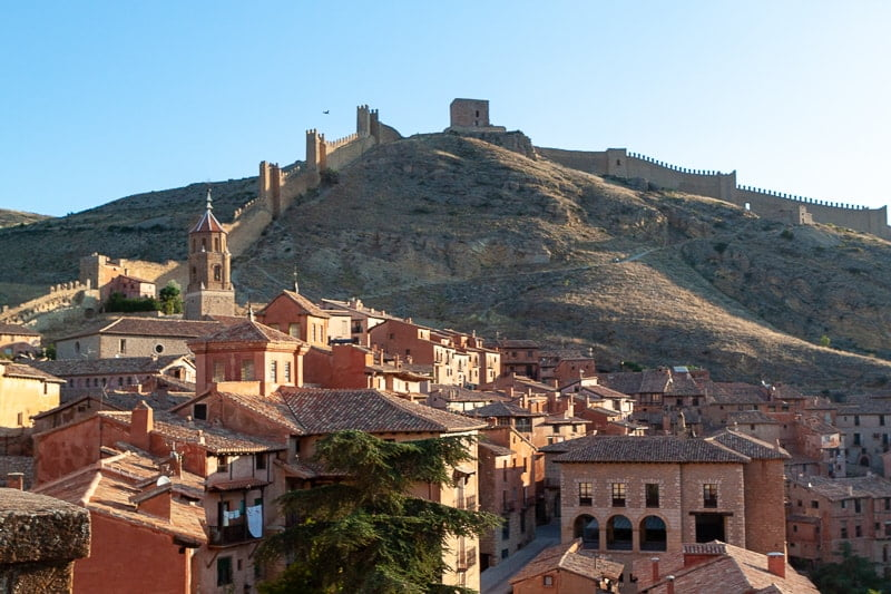 Beautiful Albaraccin, which is one of the few worthy day trips from Valencia.