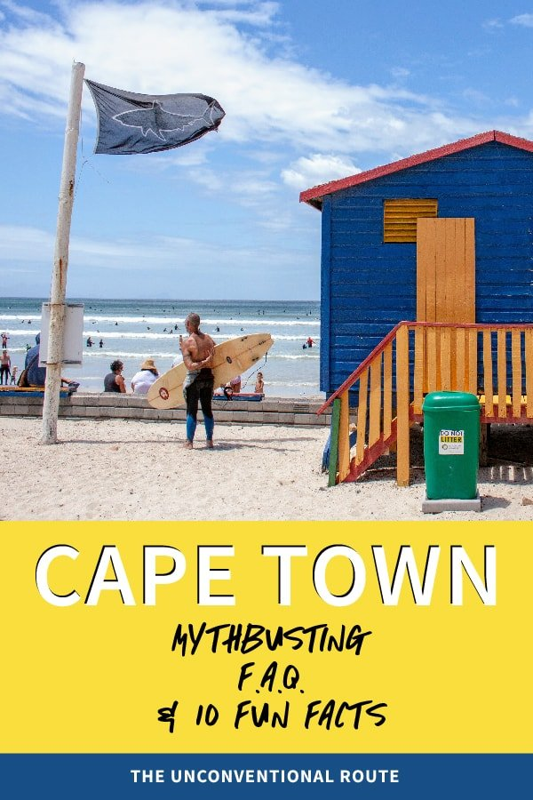 Cape Town destination guide pin