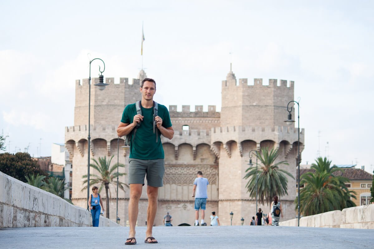 Outlier new way shorts review cover image of Chris in Valencia