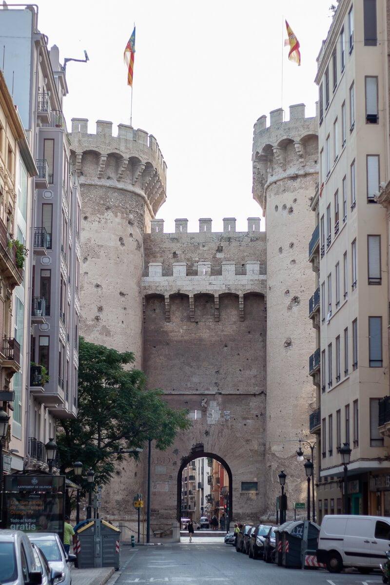 Torre quart in Valencia