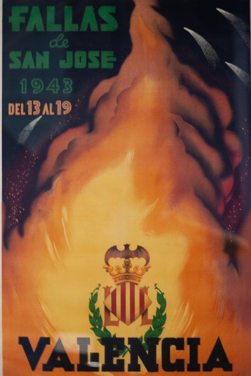 Valencia Fallas poster