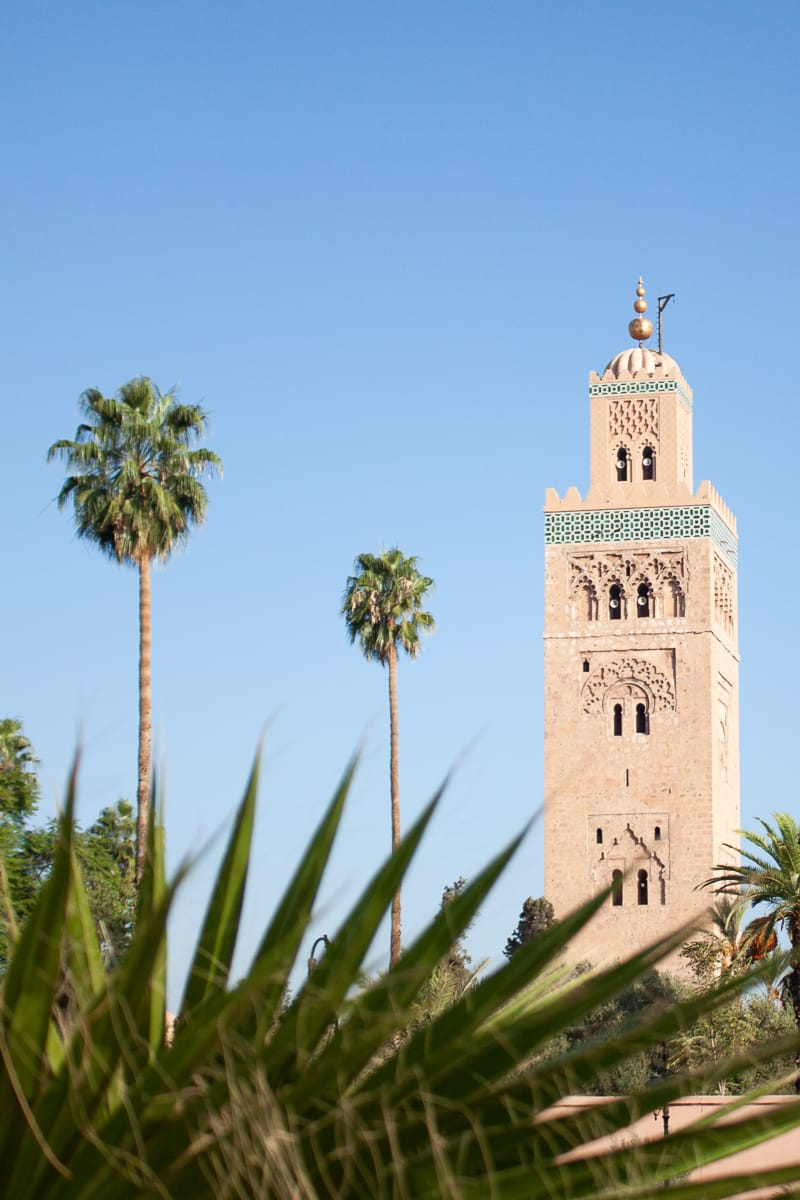 Kutubiyya Mosque in Marrakech.