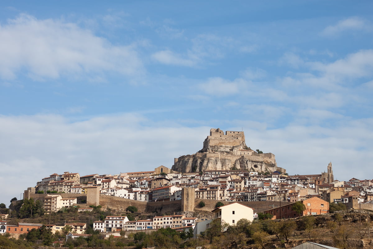 Picturesque town of Morella
